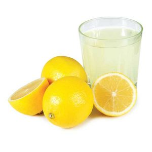 lemon juice for acne spots