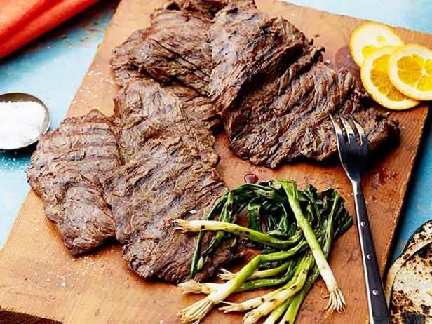 Grilled Steak In Beer Marinade