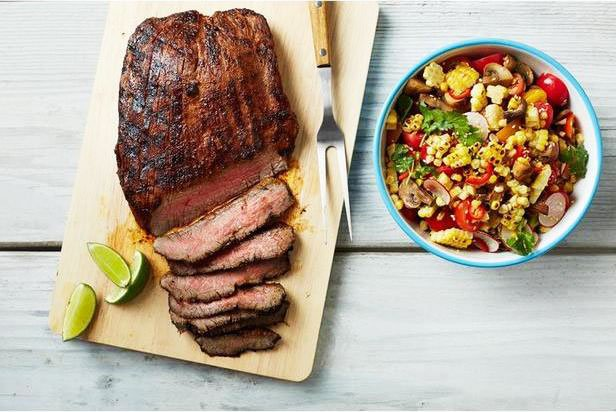 Chilli And Lime Flank Steak