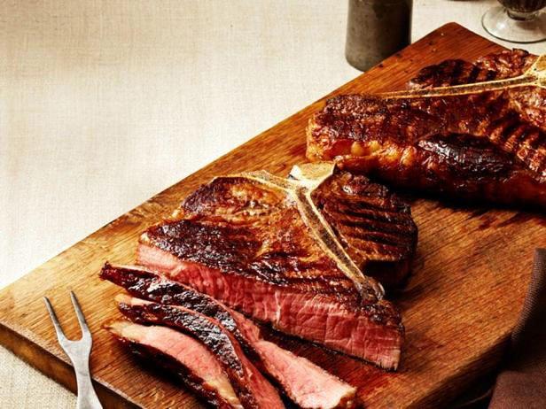 Grilled Florentine Steaks