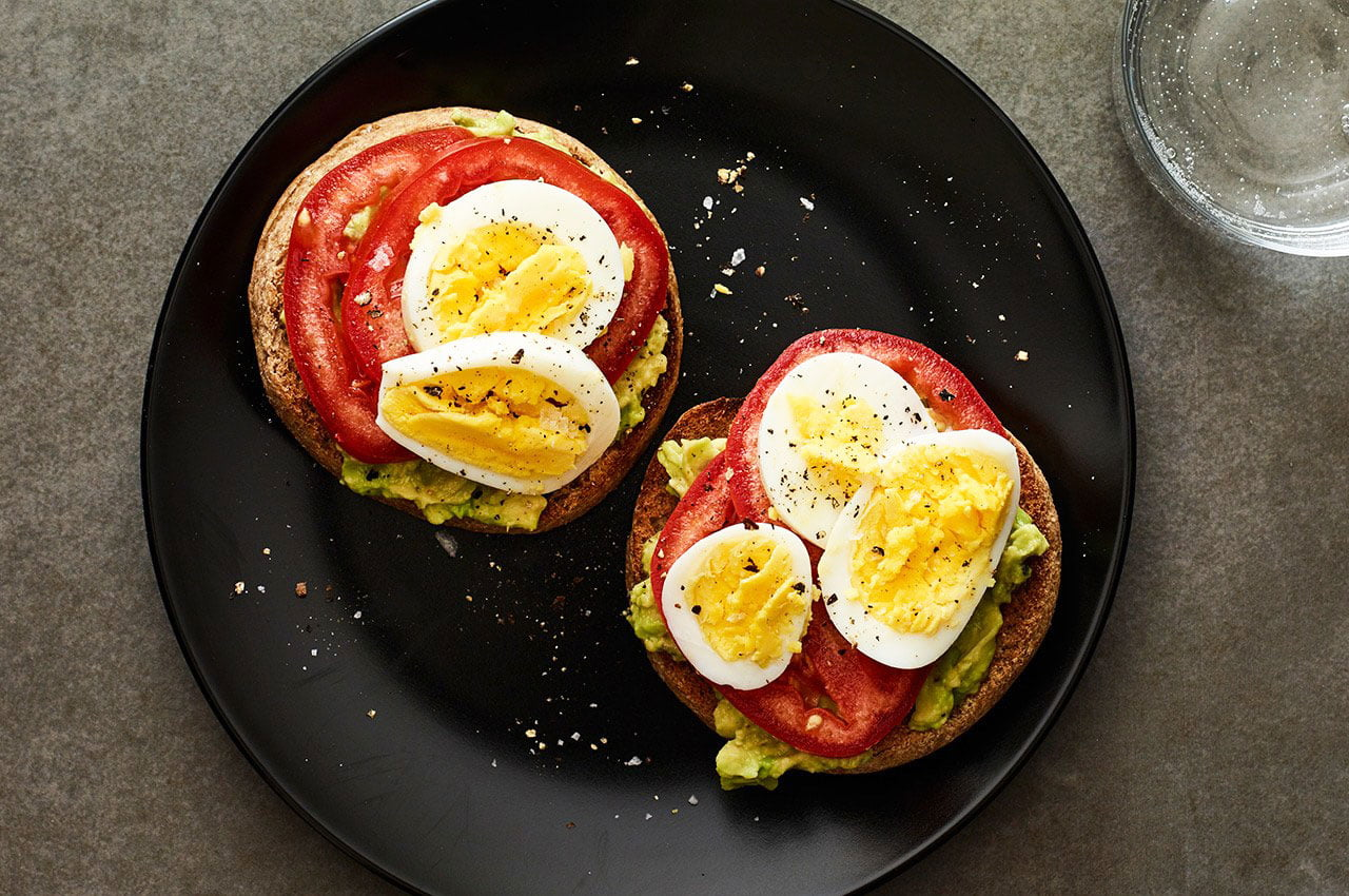 Fried Eggs In Tomato