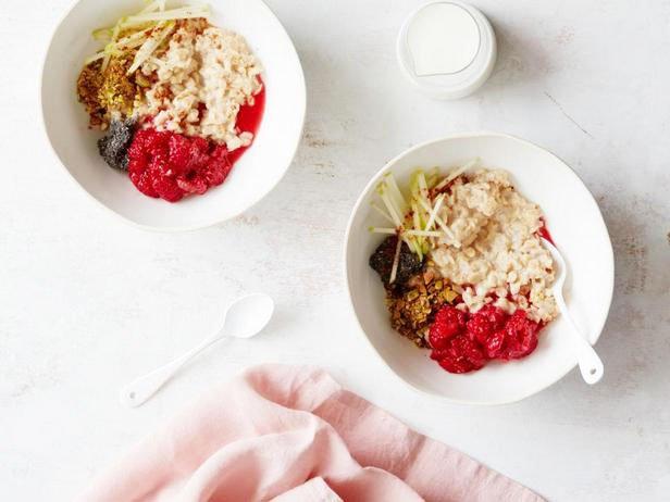 Scandinavian Porridge For Breakfast