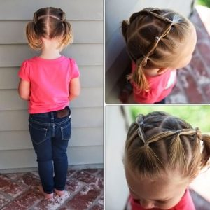 beautiful hairstyle for a girl