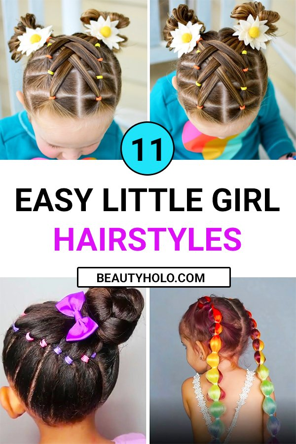 easy little girl hairstyles