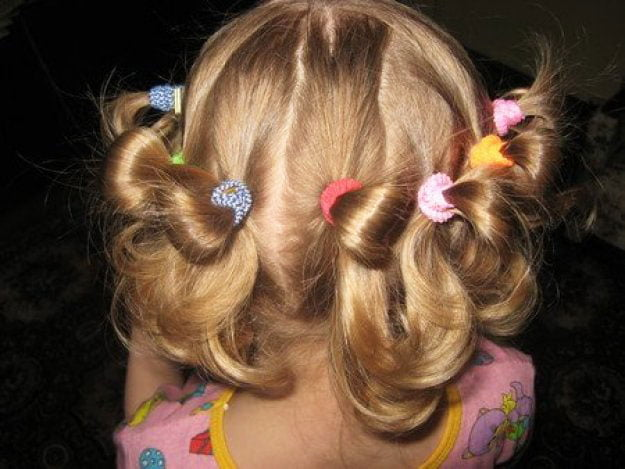 11 Simple Easy Little Girl Hairstyles - haircut in the garden