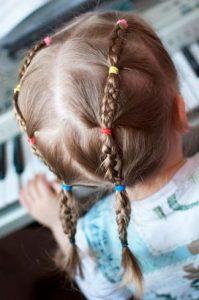 hairstyle in kindergarten