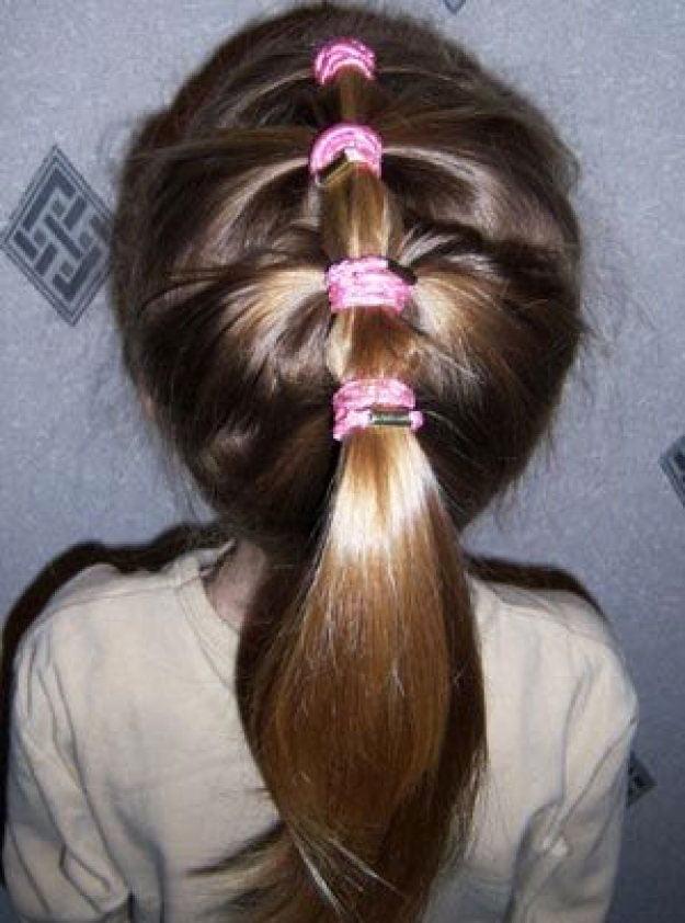 11 Simple Easy Little Girl Hairstyles - pretty haircut