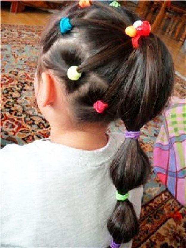 11 Simple Easy Little Girl Hairstyles - princess princess