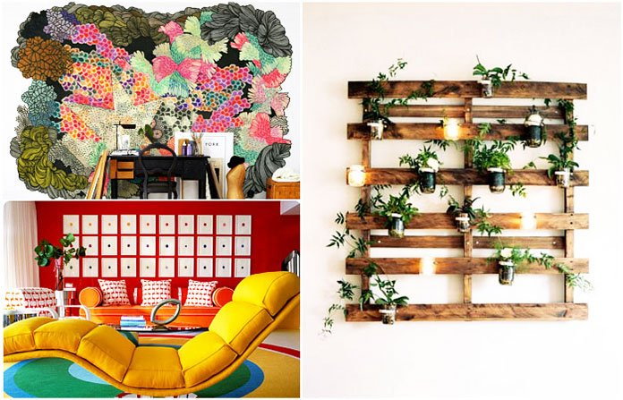 . 19 Spectacular Homemade Wall Decoration Ideas