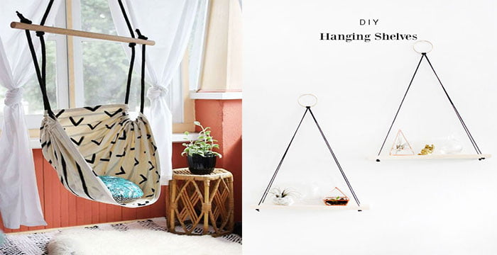 Original Hanging Chair- 20-Amazing-Small-House-Decorating-Ideas-To-Inspire-Experimentation