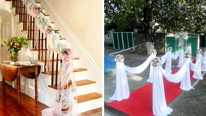 Decorating A House For A Wedding