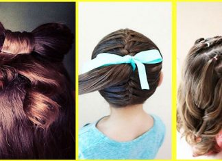 7 Quick And Easy Little Girl Hairstyles Step By Step