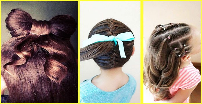7 Easy Little Girl Hairstyles For School Easy Toddlers
