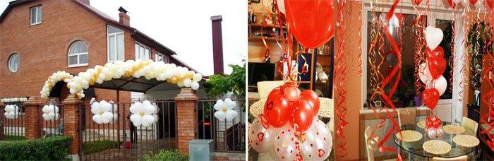 Balloons - Wedding House Decoration Ideas