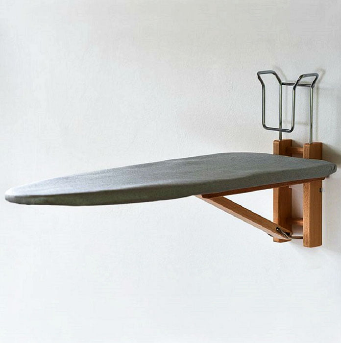 Mini ironing board (Clever Storage Ideas For Small Houses)