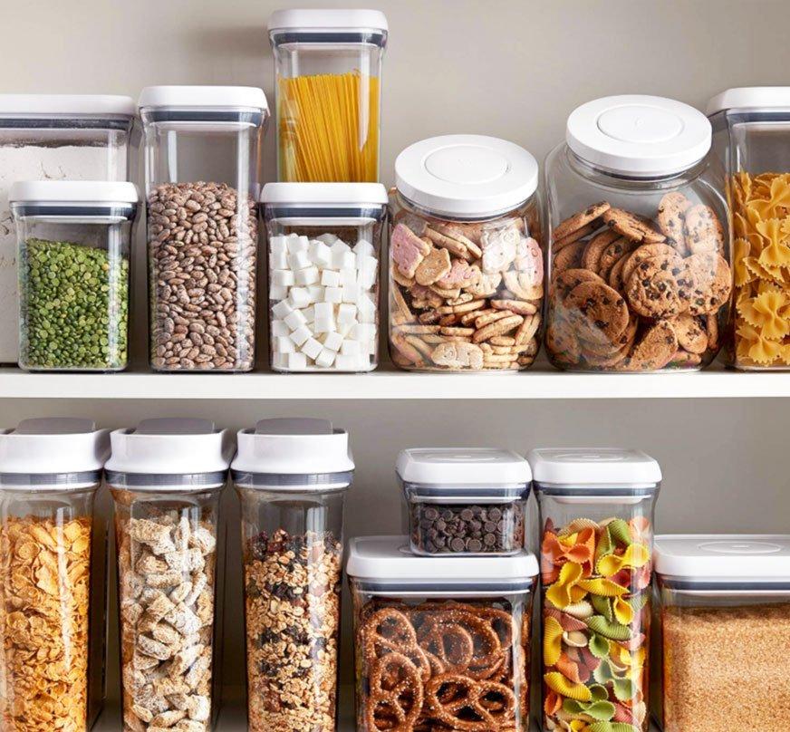 glass jar storage ideas