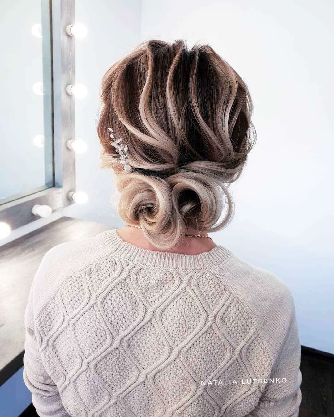 Hairstyles for long bun