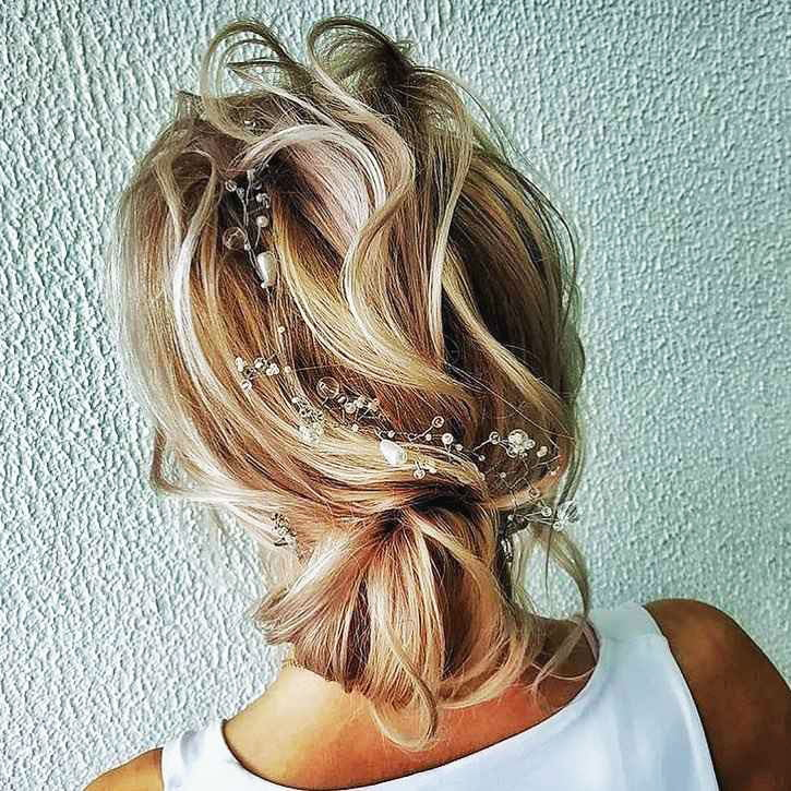 Hairstyles with pins
