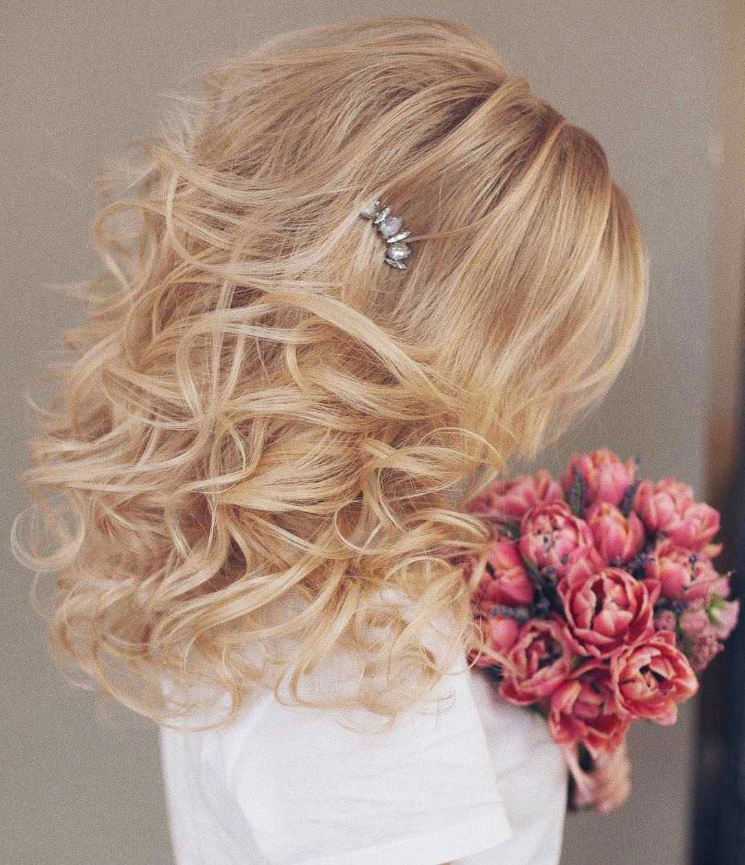 Hairstyles for prom for medium hair 2019-2020 photo 6