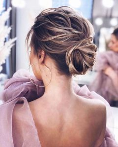 Hairstyles for prom for medium hair 2019-2020 photo 10
