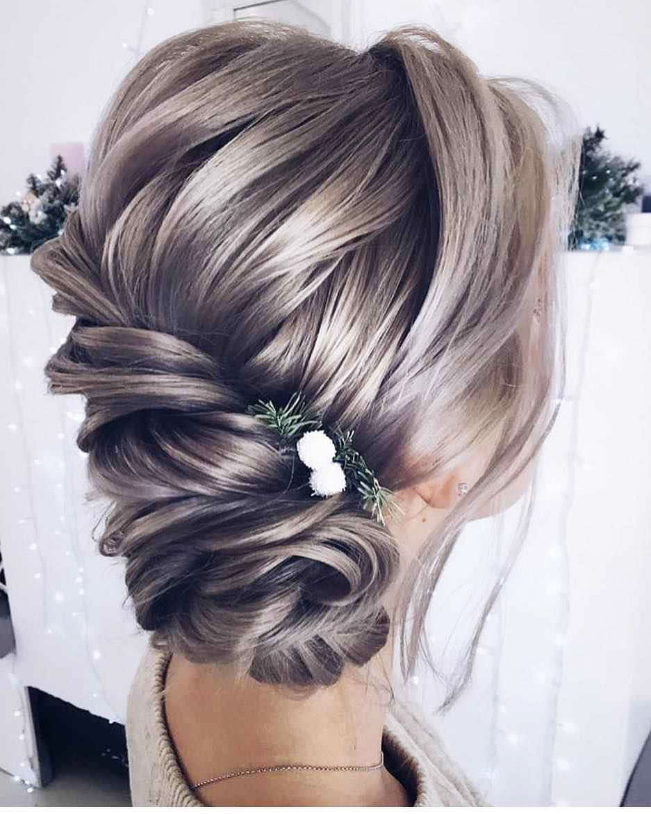 Hairstyles for prom for medium hair 2019-2020 photo 12