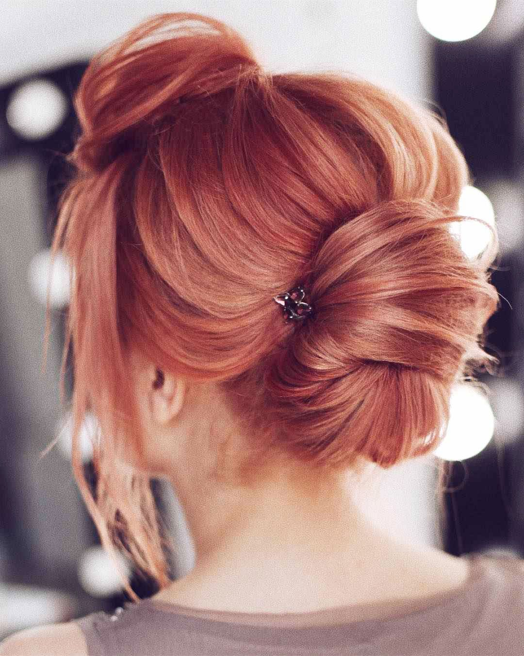 Hairstyles for prom for medium hair 2019-2020 photo 14