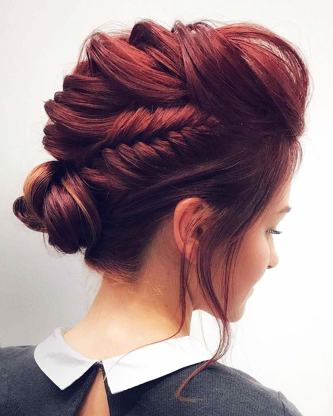 Hairstyles for prom for medium hair 2019-2020 photo 16