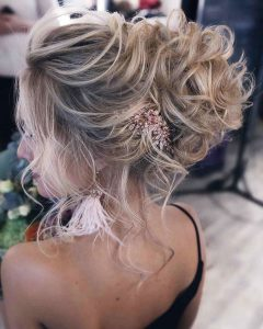 Hairstyles for prom for medium hair 2019-2020 photo 17