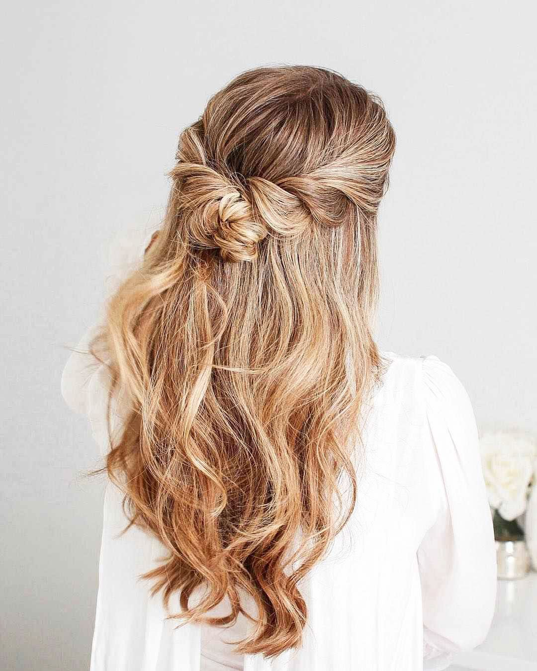 Hairstyles For Prom On Long Hair 2019-2020: Photo 11
