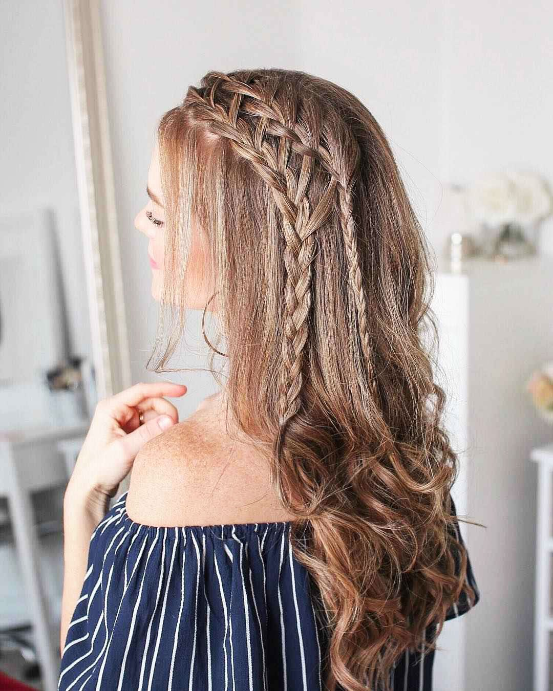 Hairstyles For Prom On Long Hair 2019-2020: Photo 12