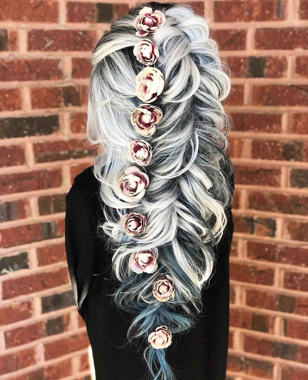 Hairstyles For Prom On Long Hair 2019-2020: Photo 13