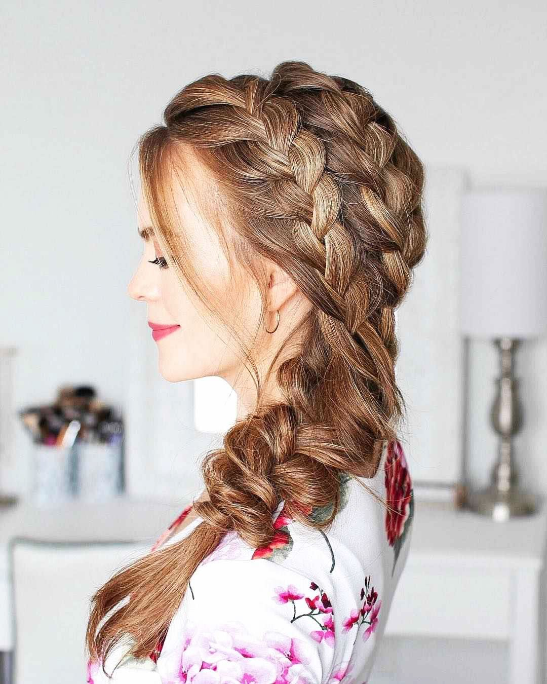 Hairstyles For Prom On Long Hair 2019-2020: Photo 16