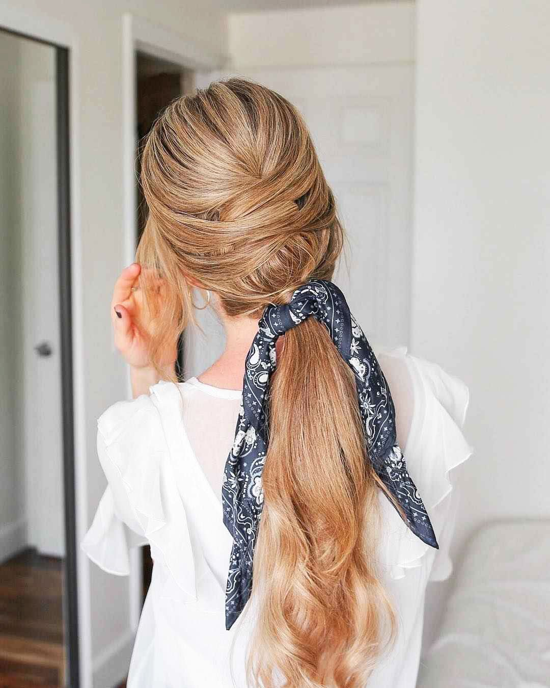Hairstyles with scarf