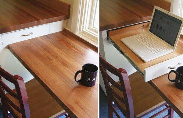 Laptop-drawer