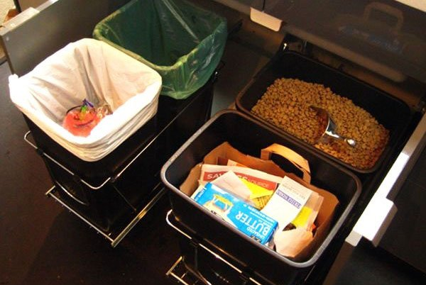Loose-products-are-better-stored-in-a-container - Hidden Safe Ideas For Home