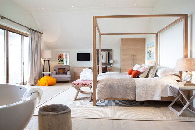 Scandinavian-style-cube-bedroom-bed