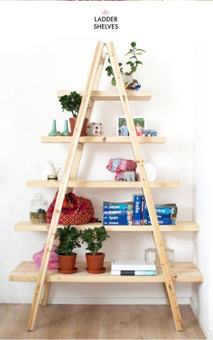 triangular shelving boards