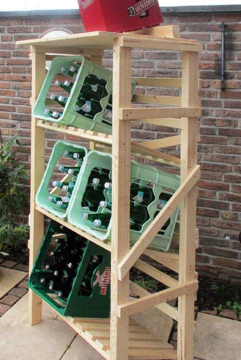 Drinks rack