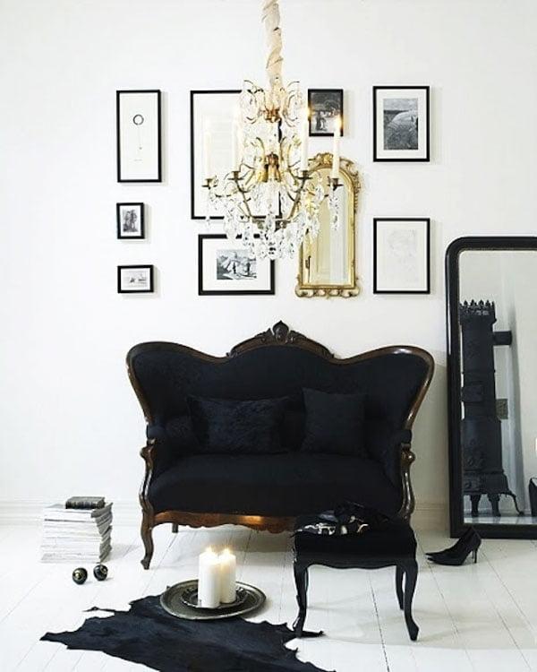 Traditional Decor with sofa