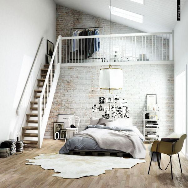 61 Gorgeous Images For Scandinavian Style Bedroom