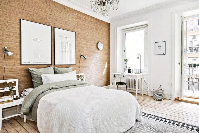 bedroom design in scandinavian
