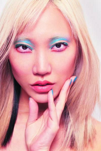 colored eyeshadow