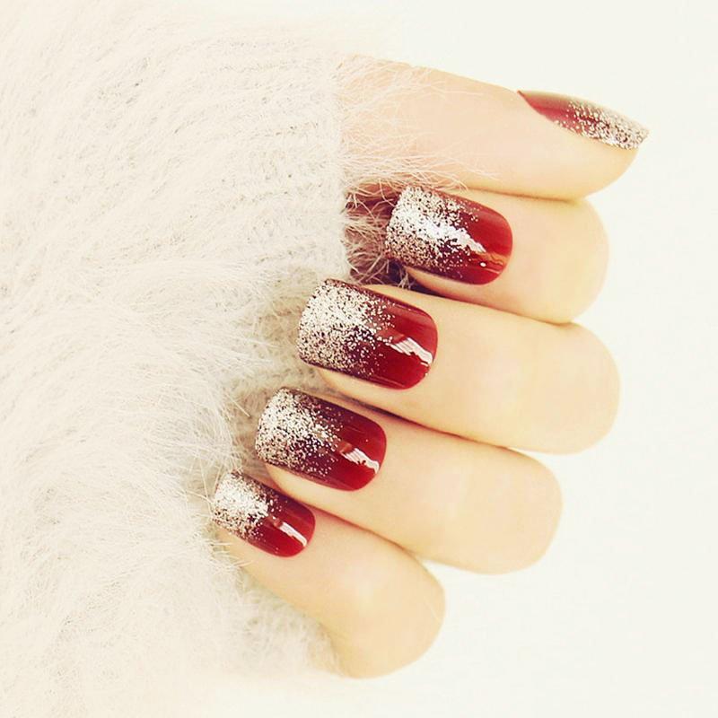 61 Best Wedding Nails For Brides 1
