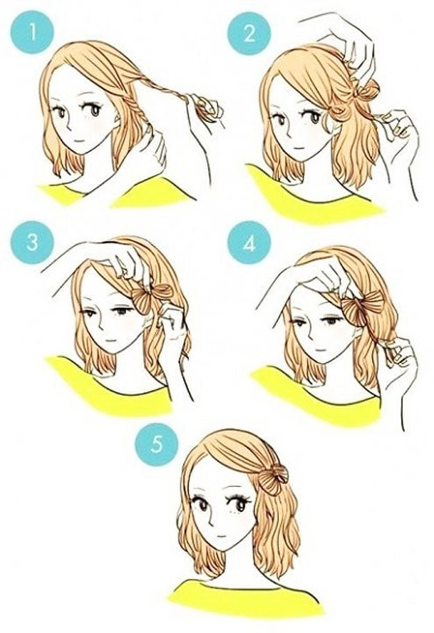 hairstyles - Easy Little Girl Hairstyles Step By Step