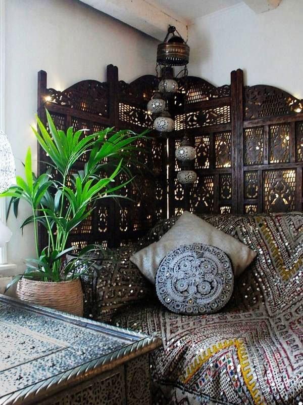 moroccan home decor ideas gold