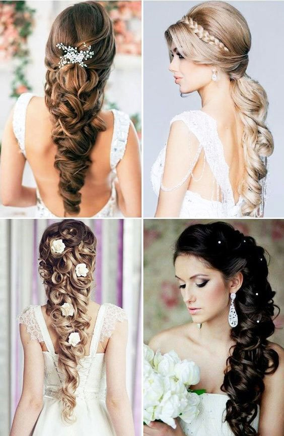 remarkable Modern bridal Hairstyles For Long Hair gallery