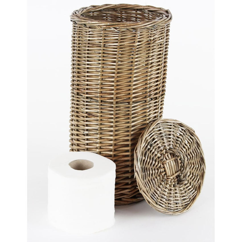 Toilet Paper Storage Basket - Great place to store toilet paper