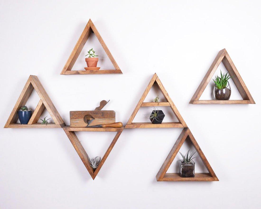 Triangular Shelving