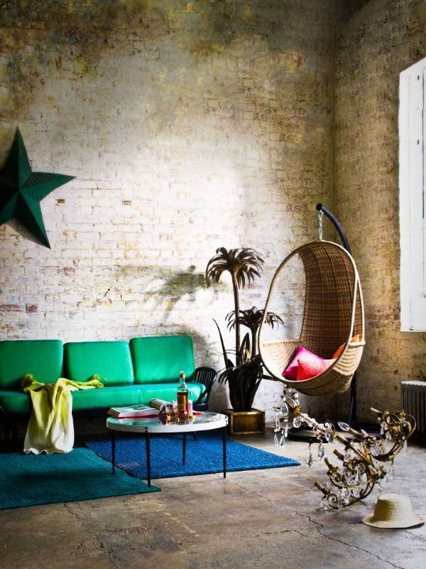 vintage eclectic decorating style