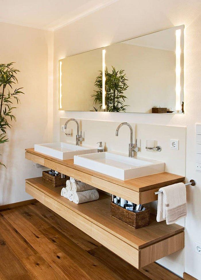Styling Bathroom Shelves